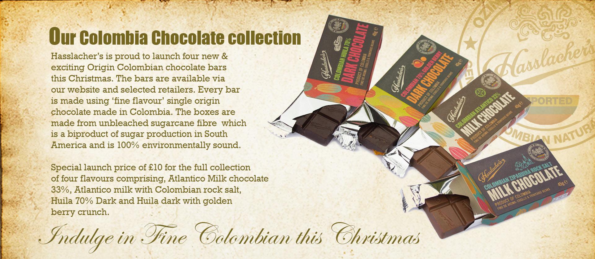 Hasslachers Colombian Chocolate